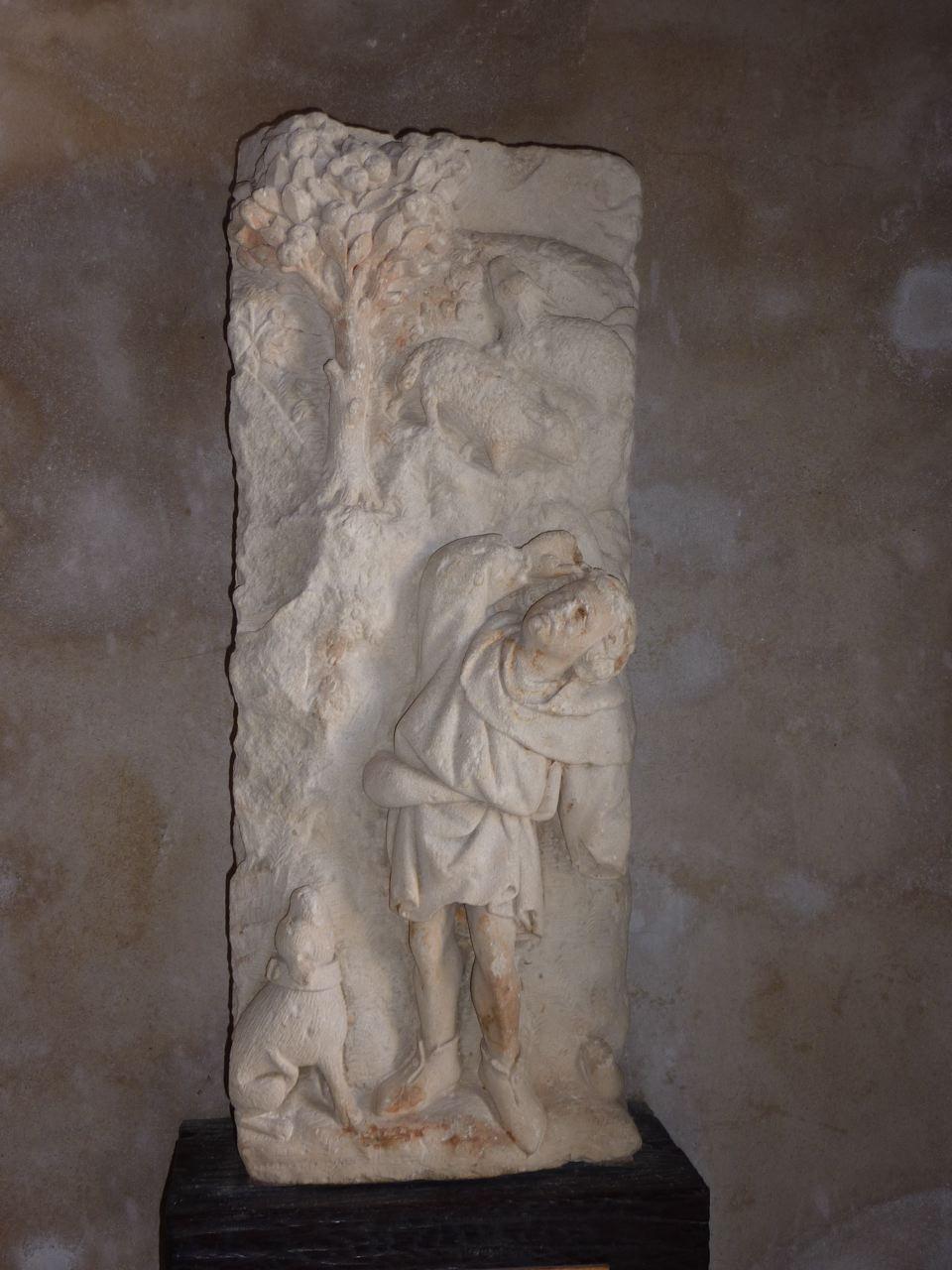L'annonce de Noël aux bergers, XVème siècle, Poligny, Jura