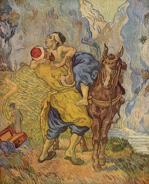 Michel blogue/Sujet/L'ignorance que nous avons de l'Église de Jésus-Christ et du Prochain Le-bon-samaritain-Vincent-Van-Gogh