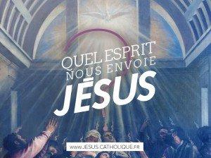 Quel esprit nous envoie Jésus