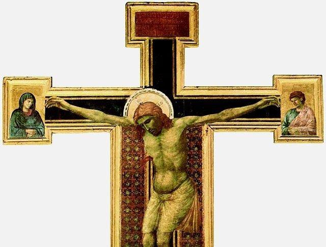 Crucifix de santa Maria Novelle de Giotto di Bondonne a la une