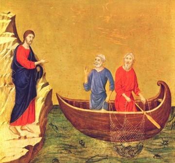 Jésus appelle ses premiers disciples, Duccio di Buonsigna), National Gallery Art, Washington DC, USA.