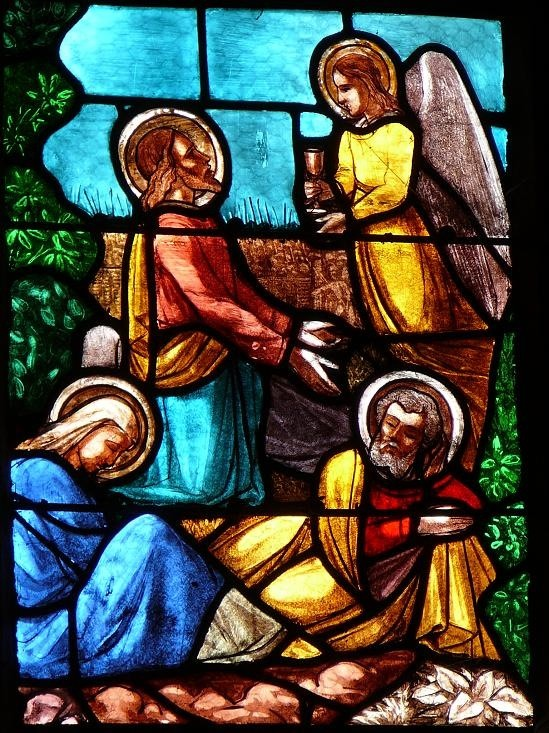 Vitrail de la Passion, Église Saint-Pitère, Le Tréhou - Finistère