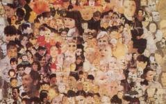 Christ aux 1000 visages a la une