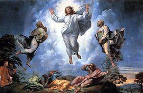 Transfiguration Raphael a la une