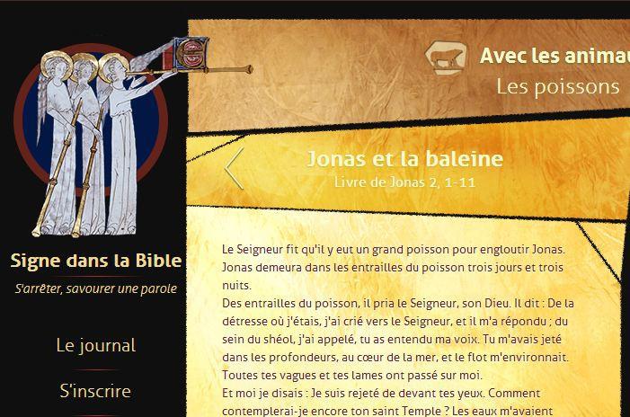 Signes dans la bible