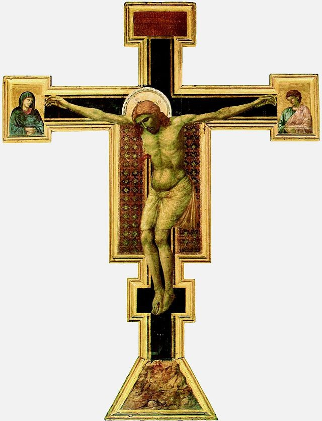 Crucifix de santa Maria Novelle de Giotto di Bondonne