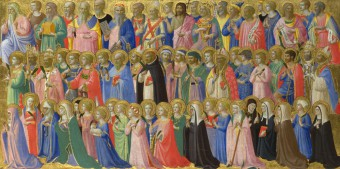 Fra Angelico, prédelle du retable de l'église du couvent saint Marc à Florence, 1423-24, National Gallery,Londres