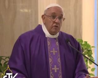 qui ne met pas sa confiance en Dieu pape Francois